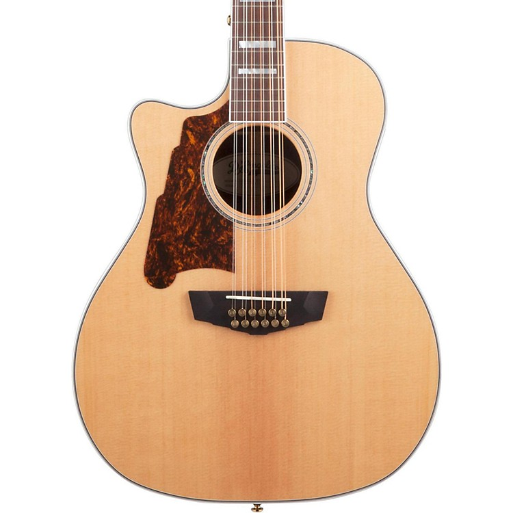 D'Angelico Excel Fulton Left Handed 12-String Acoustic-Electric Guitar Natural