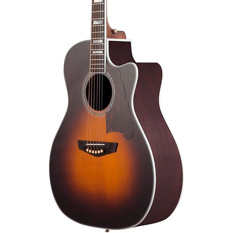 D'AngelicoExcel Gramercy Acoustic-Electric GuitarGrey Black