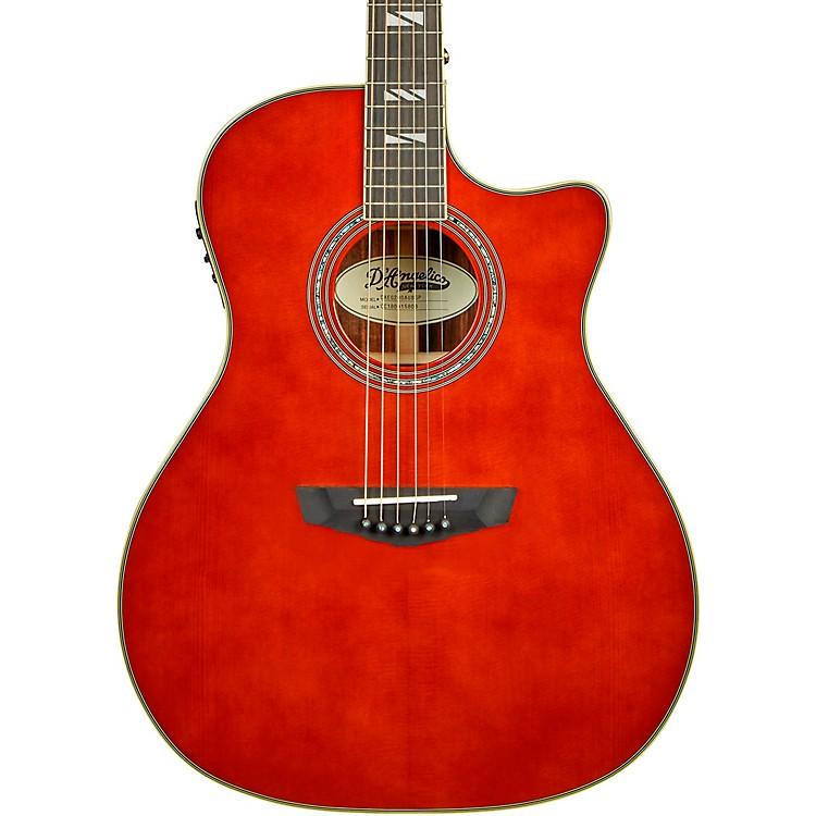 D'AngelicoExcel Gramercy Grand Auditorium Acoustic-Electric GuitarAuburn