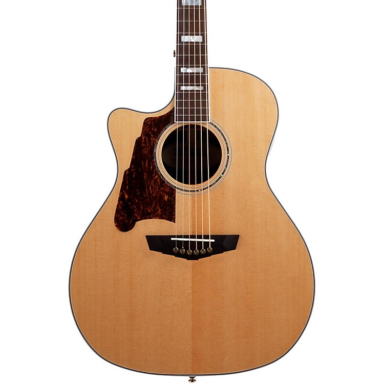 D'Angelico Excel Gramercy Left-Handed Acoustic-Electric Guitar Natural