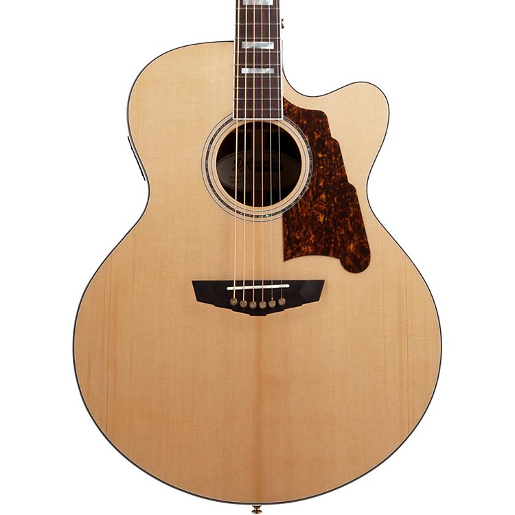 D'Angelico Excel Madison Acoustic-Electric Guitar Natural