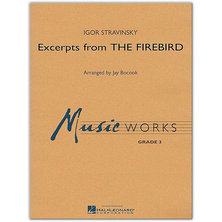 Hal Leonard Excerpts From The Firebird MusicWorks Grade 3
