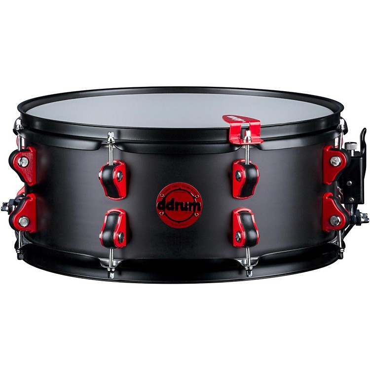 Ddrum Exclusive Hybrid Snare Drum with Trigger 14 x 6 in. Black Satin