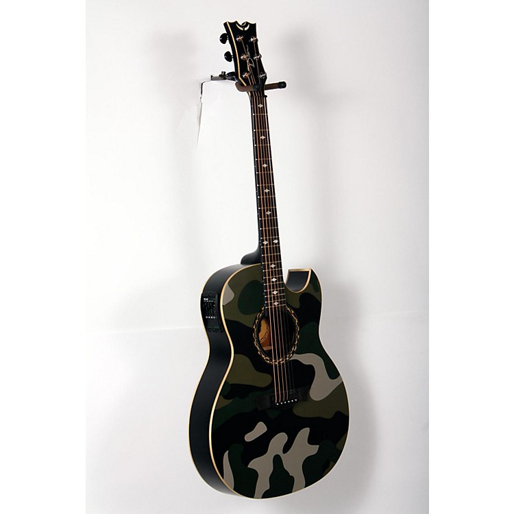 Dean Exhibition Acoustic-Electric Guitar Camouflage 888365895338