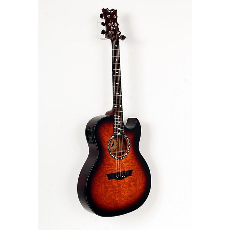 DeanExhibition Quilt Ash Acoustic-Electric Guitar with AphexTiger Eye888365745350
