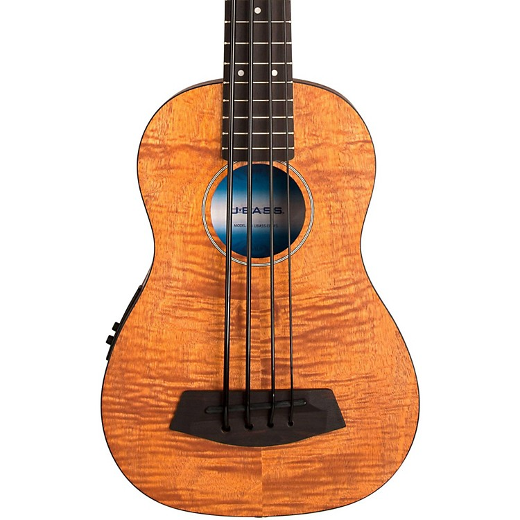 Kala Exotic Mahogany Acoustic U-Bass Natural