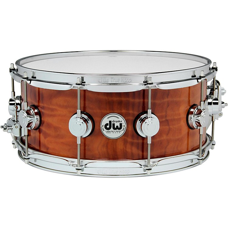 DWExotic Redwood Stump Lacquer Snare14 x 5.5 in.Chrome Hardware
