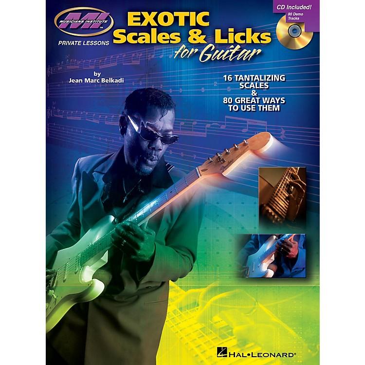 Musicians InstituteExotic Scales & Licks for Electric Guitar Musicians Institute Press BK/CD by Jean Marc Belkadi