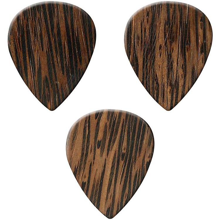 ClaytonExotic Wedge Wood Guitar Picks - 3 Pack