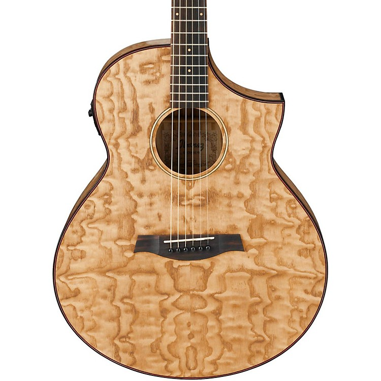 Ibanez Exotic Wood AEW40AS-NT Acoustic-Electric Guitar Natural