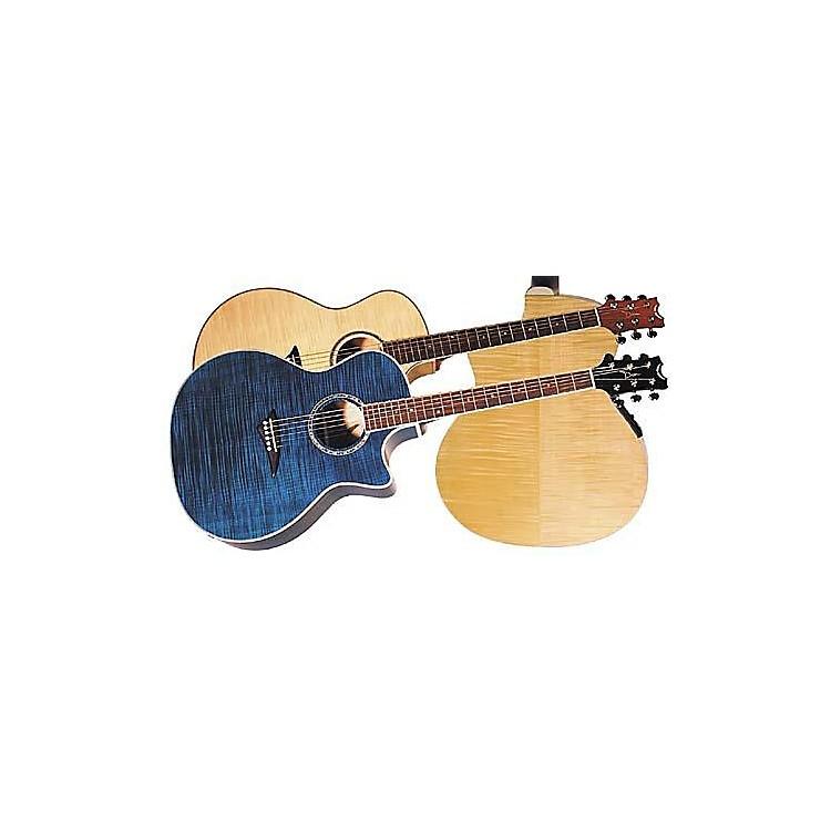 DeanExotica FM Acoustic-Electric GuitarTransparent Red