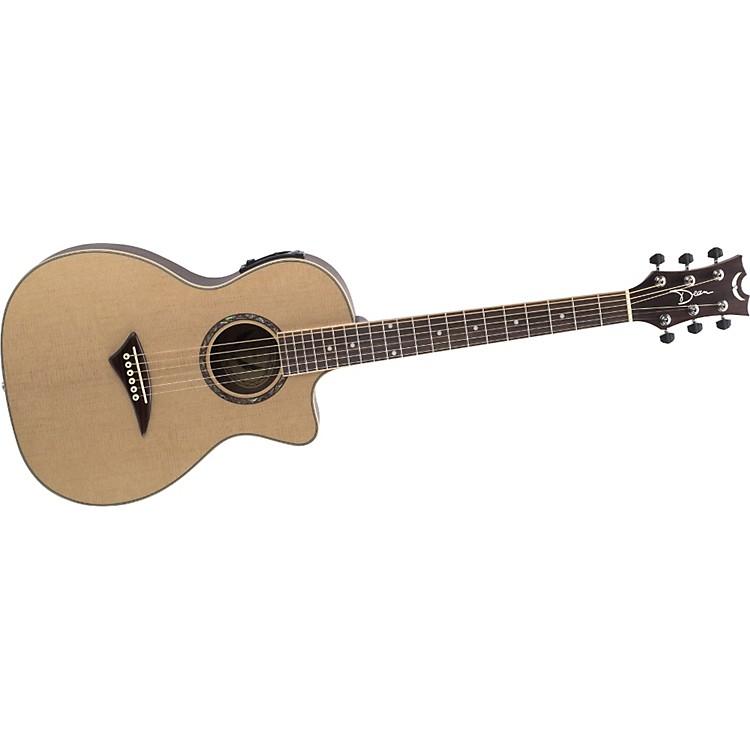 dean exotica nomad acoustic electric travel guitar music123. Black Bedroom Furniture Sets. Home Design Ideas