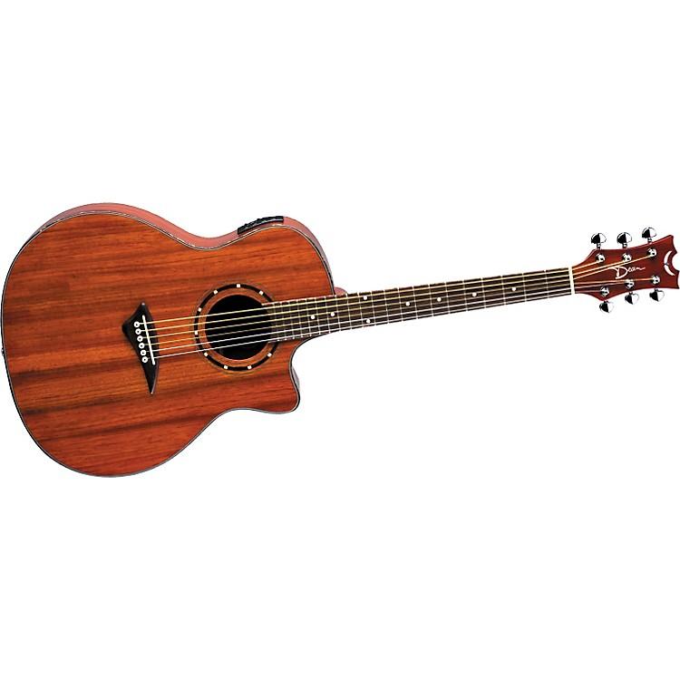 DeanExotica Paduk Acoustic-Electric Guitar