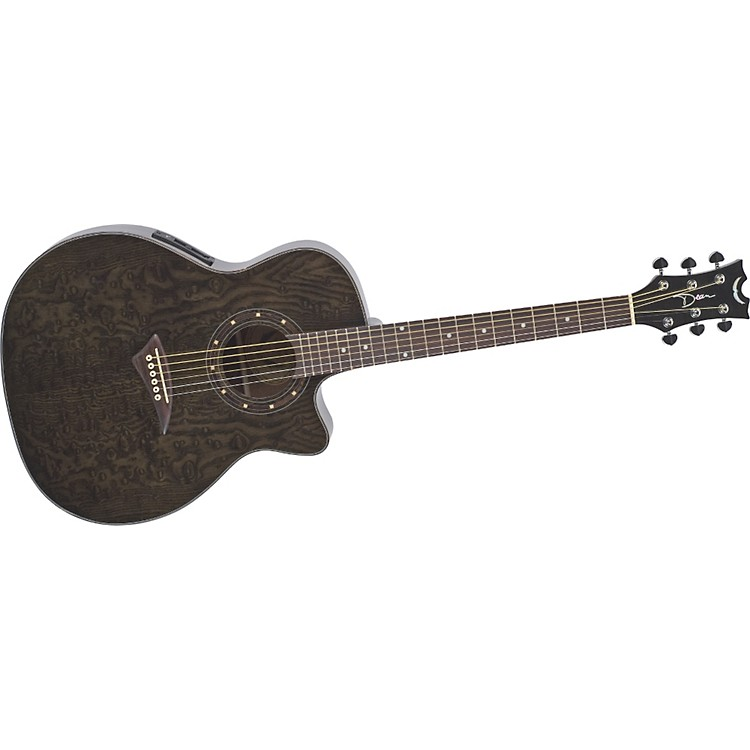 DeanExotica Quilted Ash Acoustic-Electric Guitar