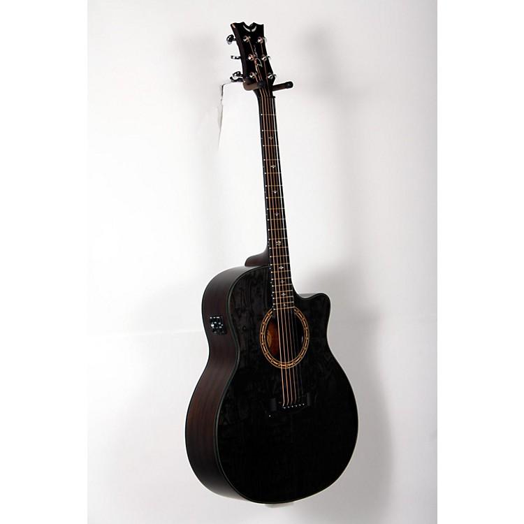 DeanExotica Ultra Quilt Ash Acoustic-Electric GuitarTransparent Black888365894676