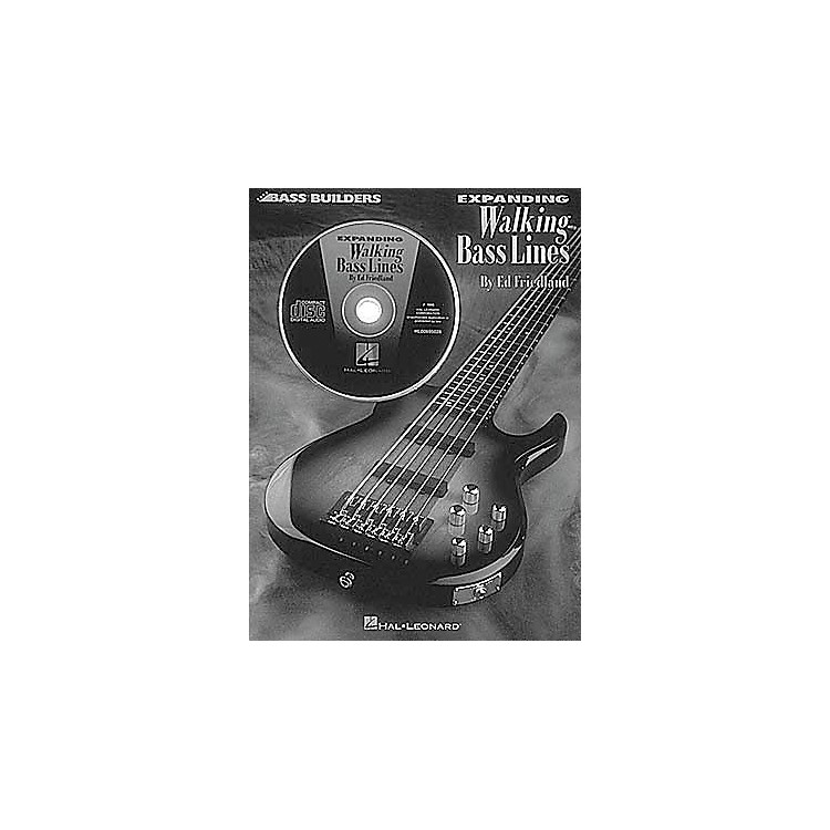 Hal Leonard Expanding Walking Bass Lines (Book and CD Package)