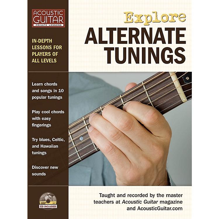 String Letter PublishingExplore Alternate Tunings String Letter Publishing Series Softcover with CD Written by Various
