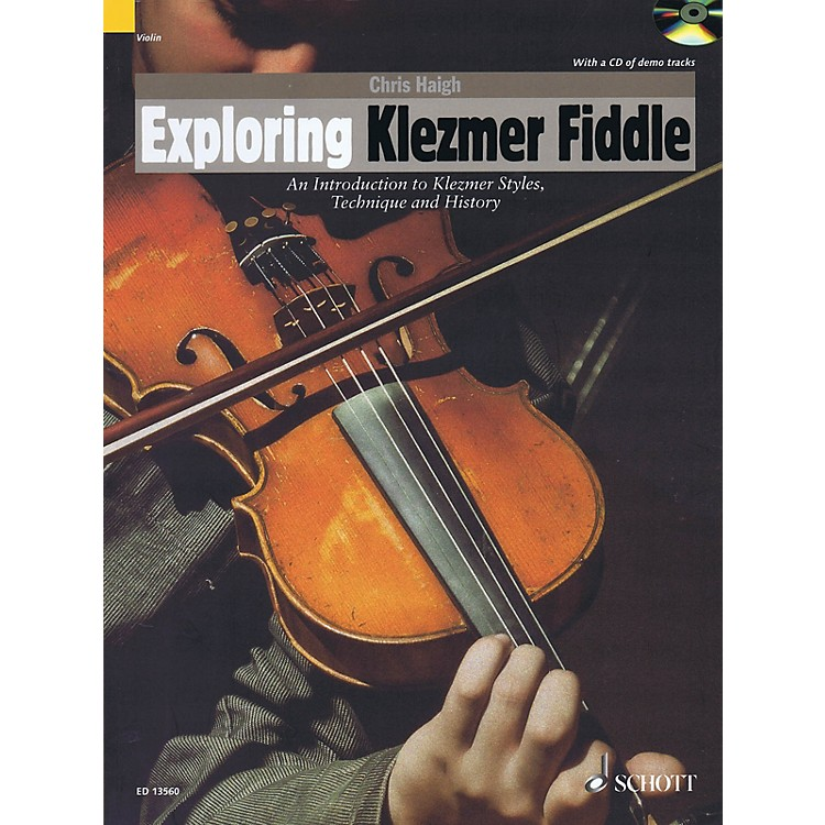 SchottExploring Klezmer Fiddle String Series Softcover with CD