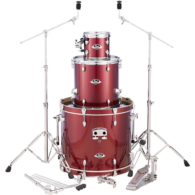 Pearl Export Double Bass Add-on Pack Black Cherry Glitter