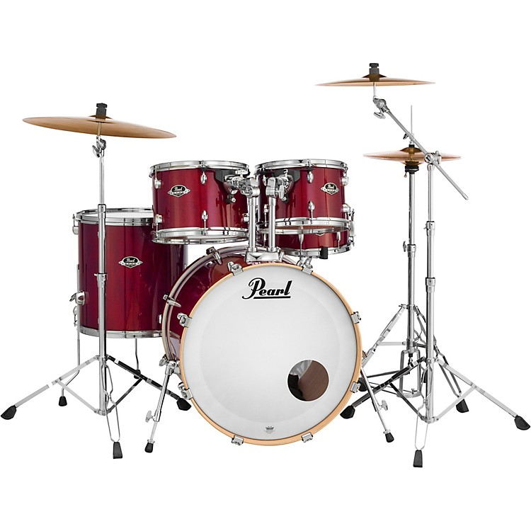 Pearl Export EXL Standard 5-Piece Drumset with Hardware Natural Cherry