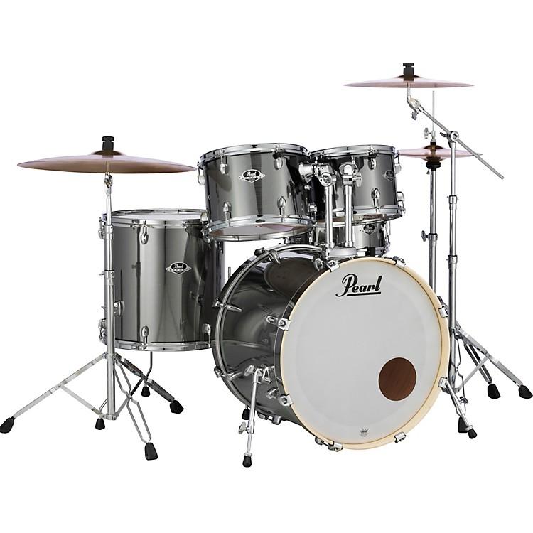 PearlExport Standard 5-Piece Drum Set with HardwareSmokey Chrome