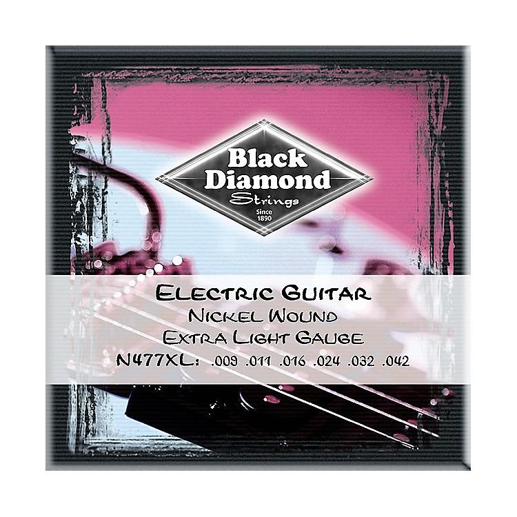 Black DiamondExtra Light Nickel Electric Guitar Strings