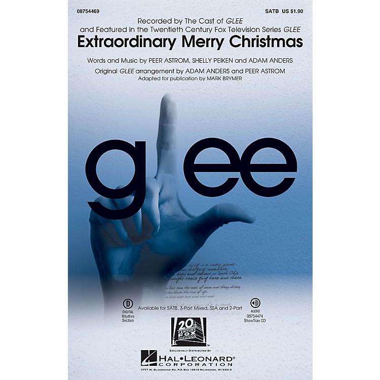 Hal LeonardExtraordinary Merry Christmas SSA by Glee Cast Arranged by Mark Brymer
