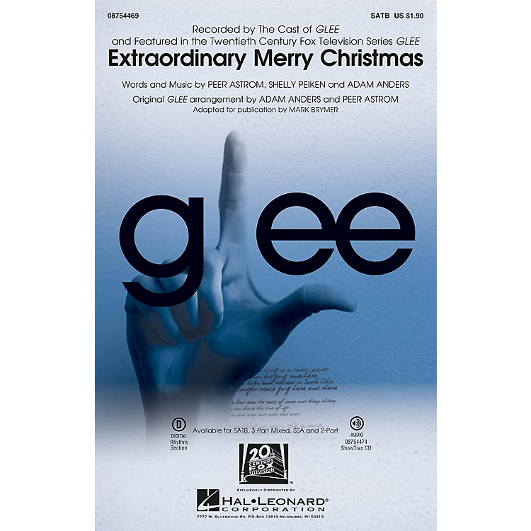 Hal Leonard Extraordinary Merry Christmas ShowTrax CD by Glee Cast Arranged by Mark Brymer