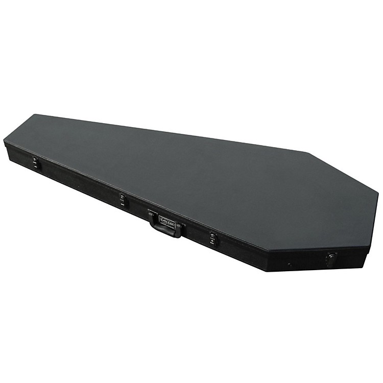 Coffin Case Extreme Guitar Coffin Case Black Red