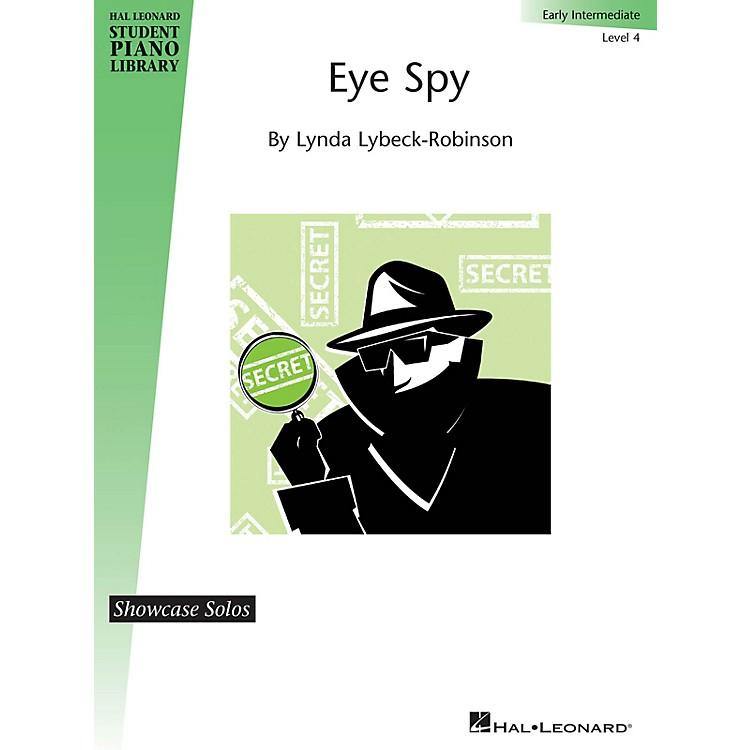 Hal LeonardEye Spy Piano Library Series Book by Lynda Lybeck-Robinson (Level Early Inter)