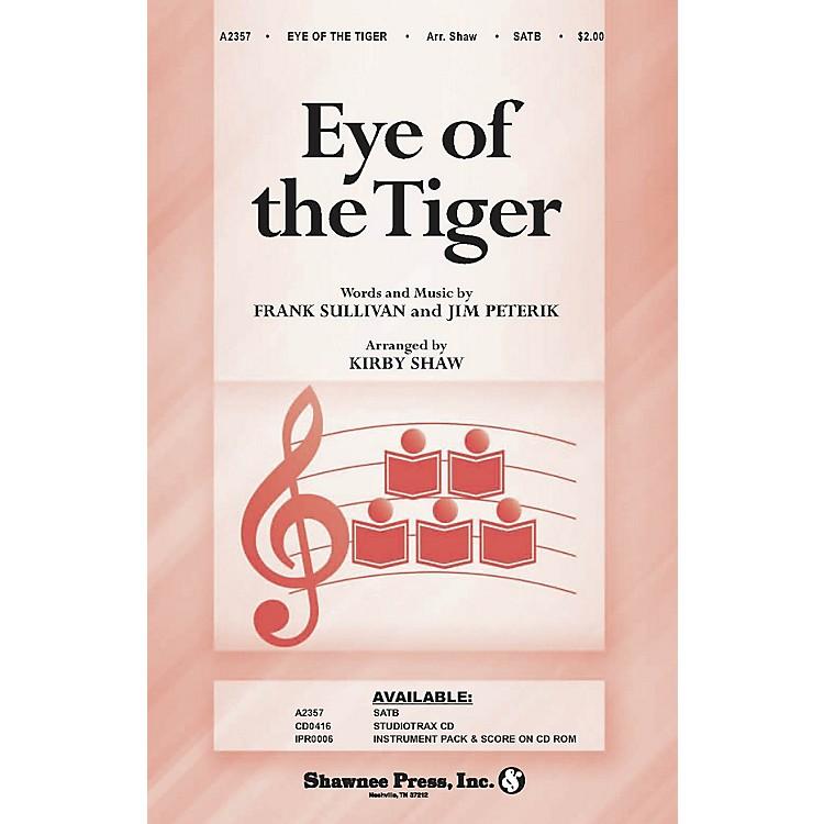 Shawnee PressEye of the Tiger SATB arranged by Kirby Shaw