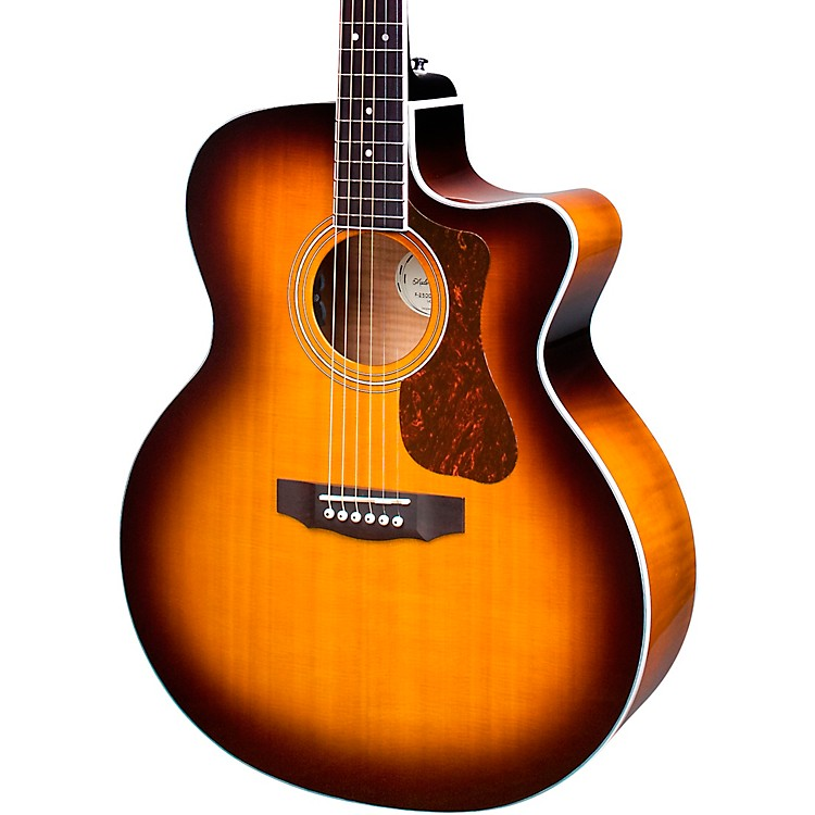 Guild F-250CE Deluxe Dreadnought Acoustic-Electric Guitar Antique Sunburst