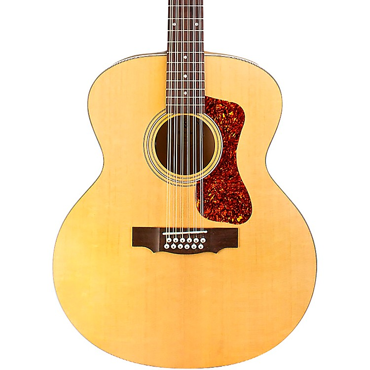 GuildF-2512E Jumbo 12-String Acoustic-Electric GuitarCharcoal Burst