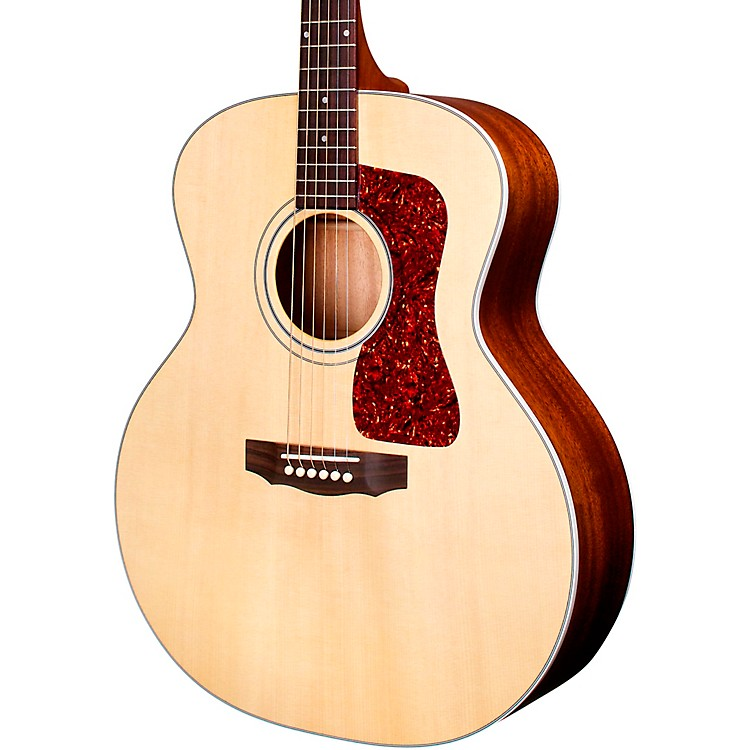 GuildF-40E Natural Acoustic-Electric GuitarNatural