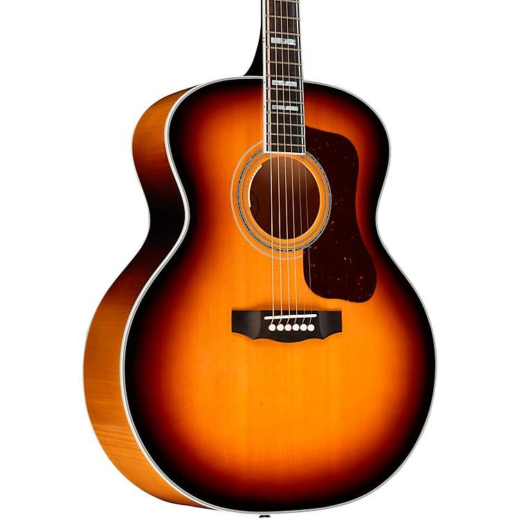 GuildF-55E Maple Jumbo Acoustic-Electric GuitarNatural