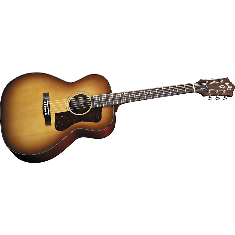 GuildF40 Valencia Acoustic-Electric Guitar with D-TAR Pickup SystemNatural886830476648