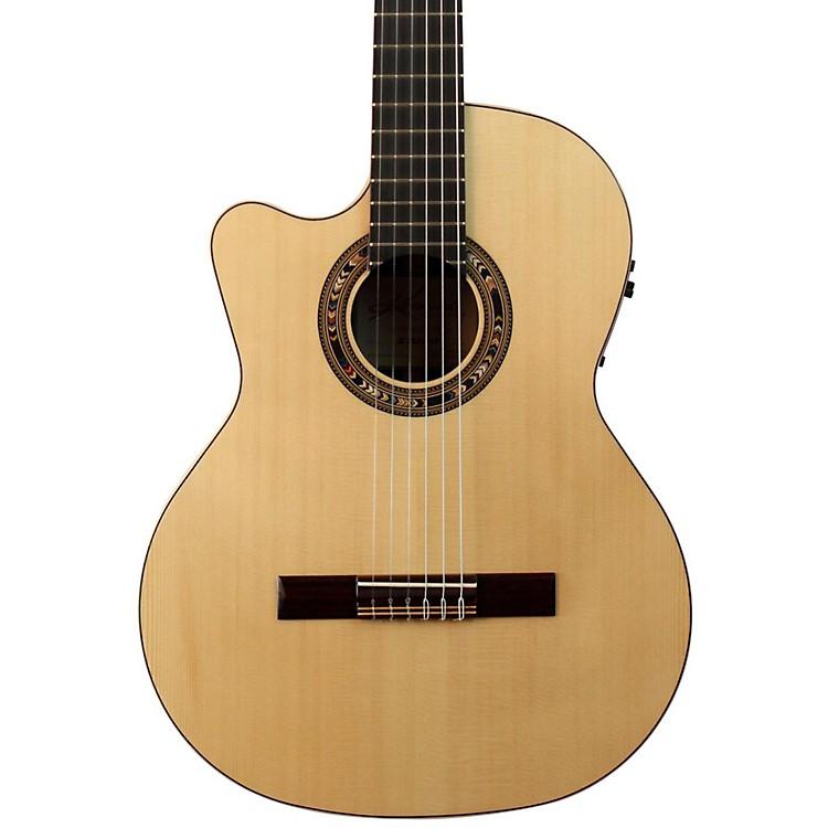 KremonaF65CW Left-Handed Classical Acoustic-Electric GuitarNatural