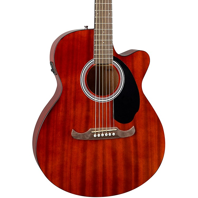 fender fa 135ce concert acoustic electric guitar mahogany music123. Black Bedroom Furniture Sets. Home Design Ideas