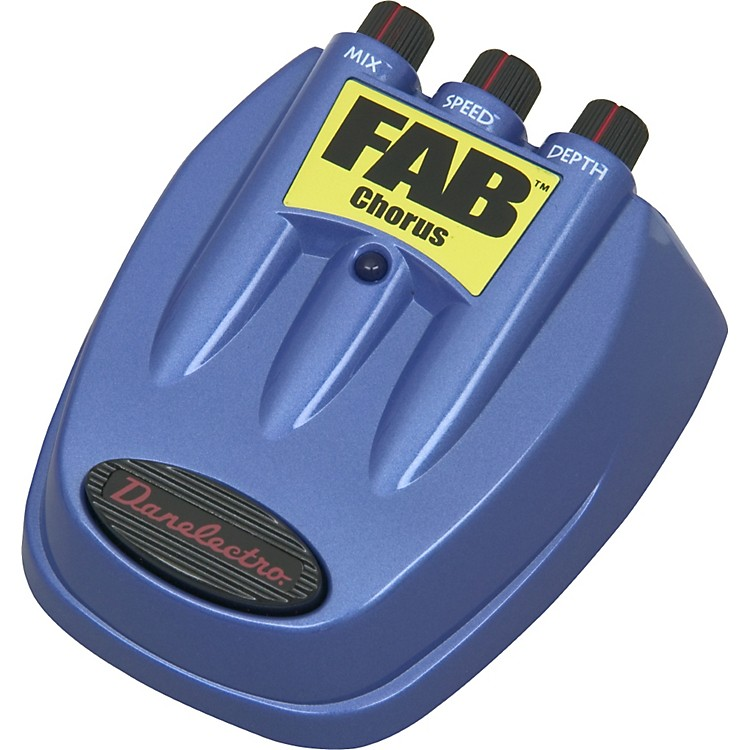 DanelectroFAB Chorus Guitar Effects Pedal