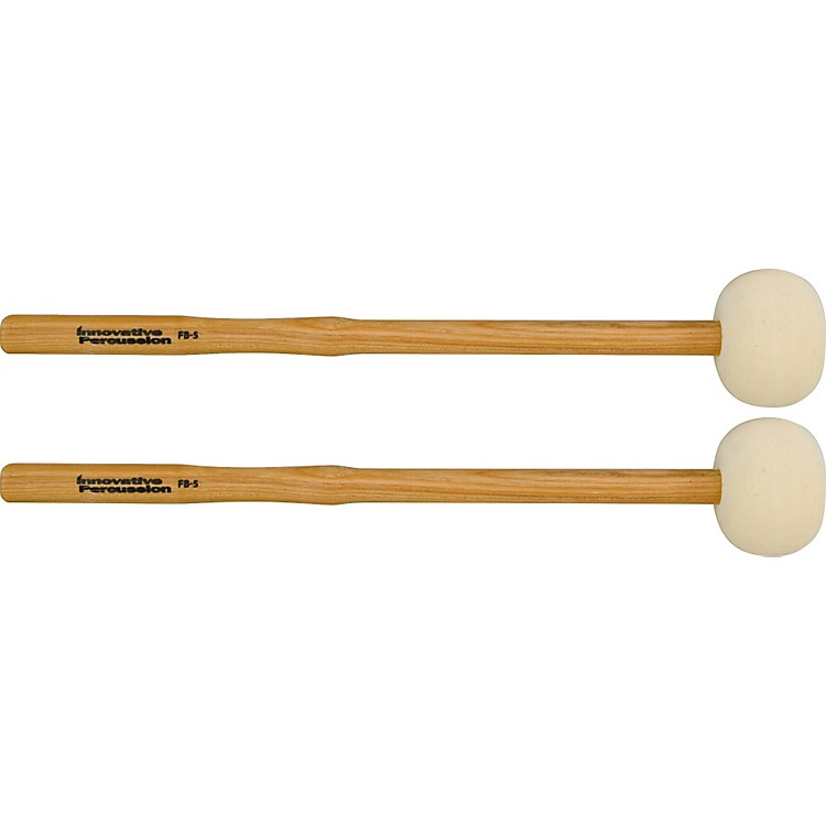 Innovative Percussion FB Field Series Marching Bass Drum Mallets Extra Large (Hard)