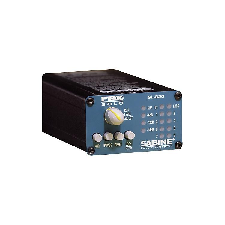 SabineFBX-SOLO SL820 Digital Feedback Eliminator with 1/4