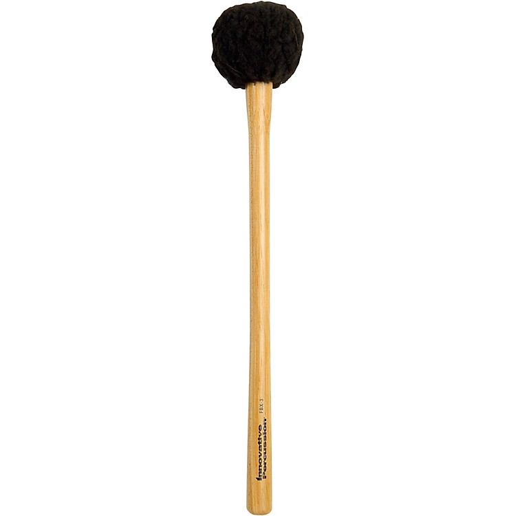 Innovative Percussion FBX Soft Field Series Marching Bass Mallets Medium SOFT TAPERED HICKORY HANDLE