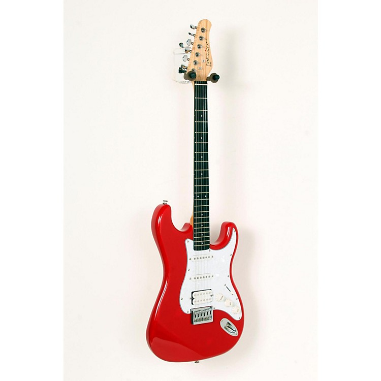 Fretlight FG-521 Electric Guitar with Built-in Lighted Learning System Red 888365699578