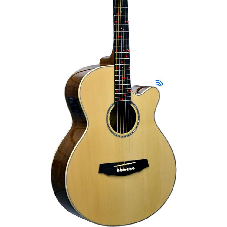 Fretlight FG-629 Wireless Acoustic-Electric Guitar Natural
