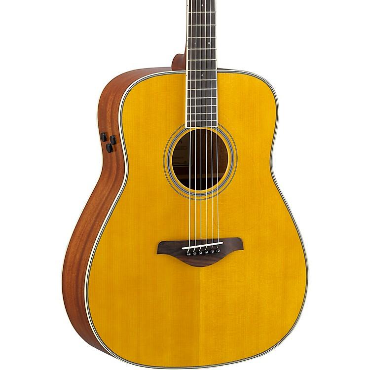 YamahaFG-TA TransAcoustic Dreadnought Acoustic-Electric GuitarBrown Sunburst