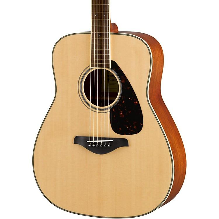 YamahaFG820 Dreadnought Acoustic GuitarBrown Sunburst