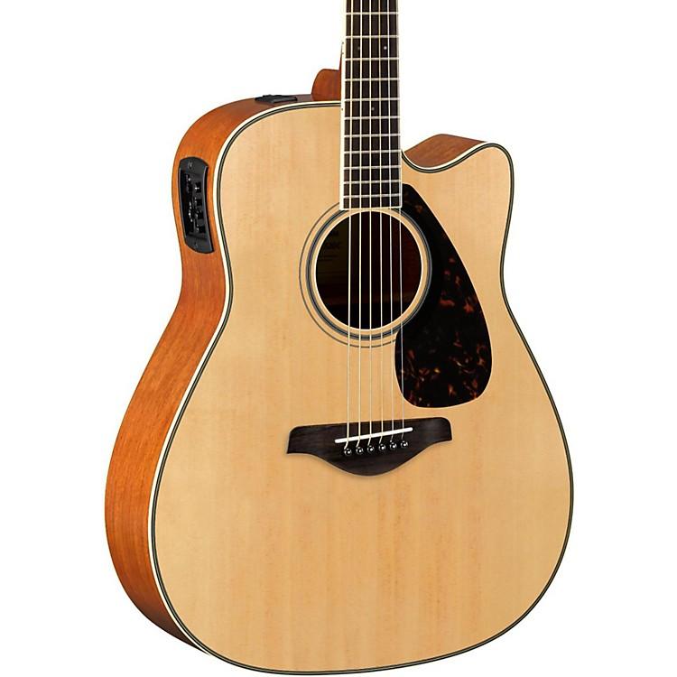YamahaFGX820C Dreadnought Acoustic-Electric GuitarNatural