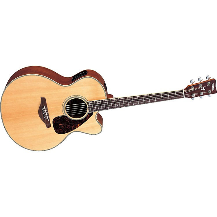 Yamaha FJX720SC Solid Spruce Top Mahogany Acoustic-Electric Guitar Natural