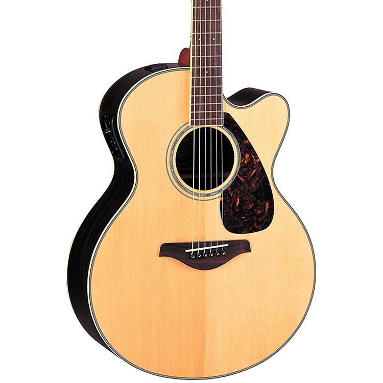 YamahaFJX730SC Solid Spruce Top Rosewood Acoustic-Electric GuitarNatural