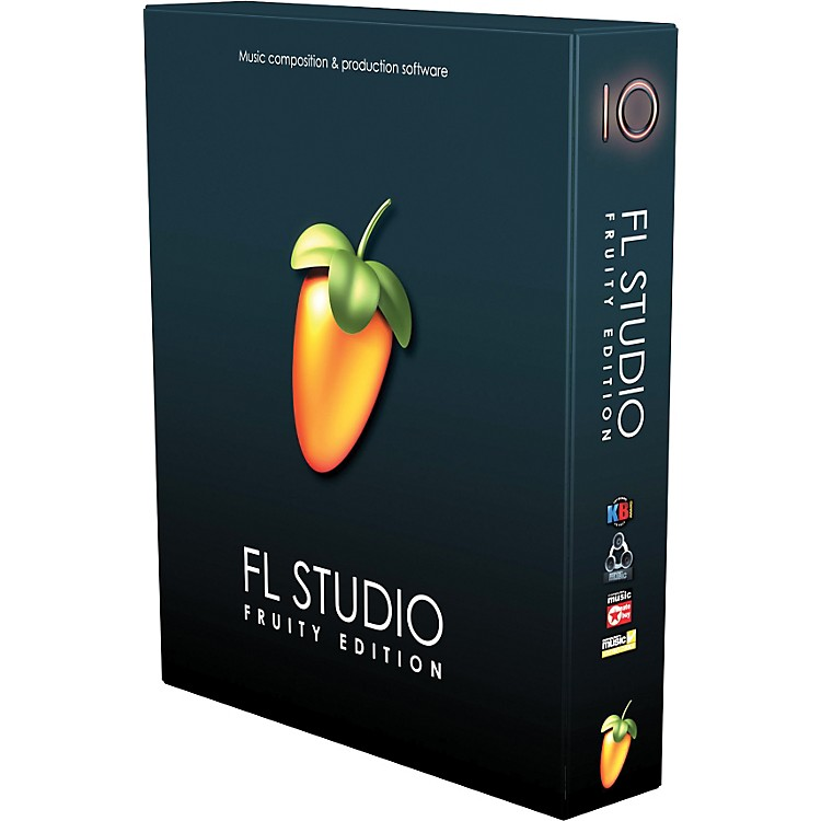 Image LineFL Studio 10 Fruity Loops with Free Upgrade to Version 11